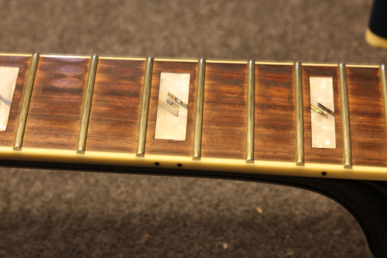Before with strings removed fret 12