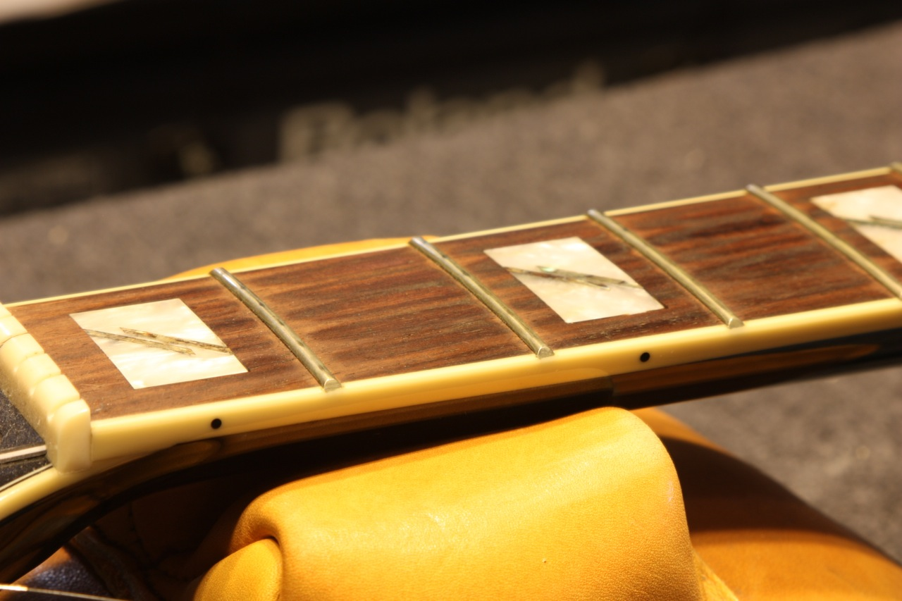 Before with strings removed frets 1-3