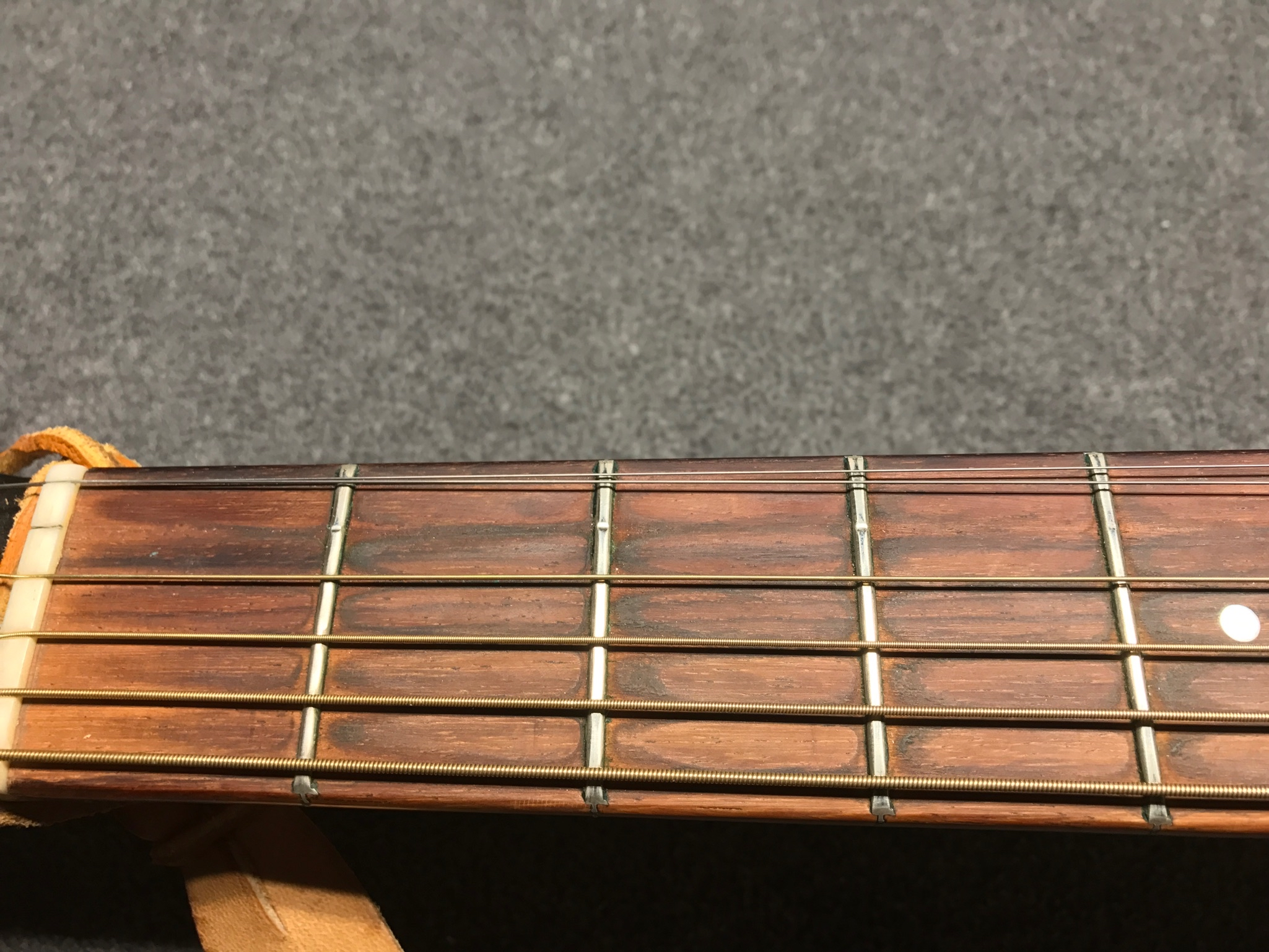 BEFORE Level and Crown lower frets